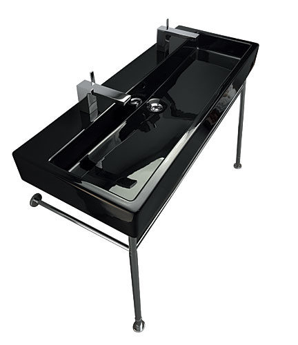 1 vero black sink