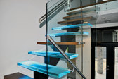 Glass Stair Treads