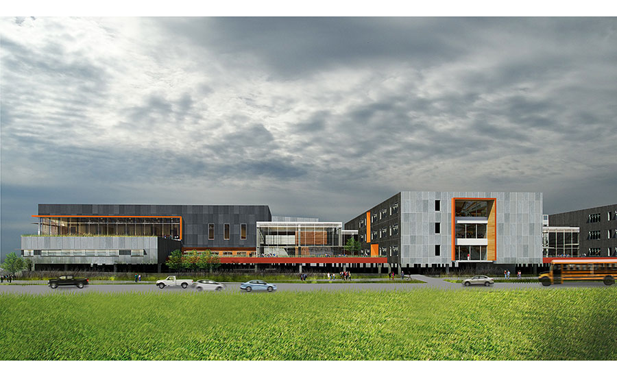 Charmant Mount Si High School Redevelopment, Washington NAC Architecture