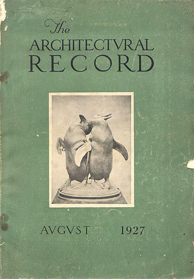 Architectural Record August 1928