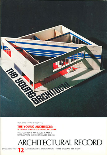 Architectural Record December 1972