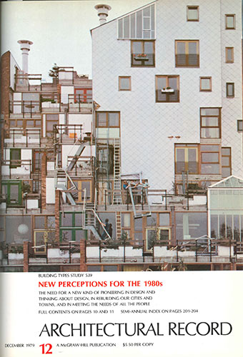 Architectural Record December 1979