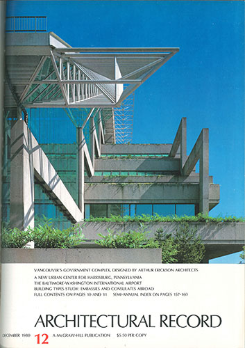 Architectural Record December 1980