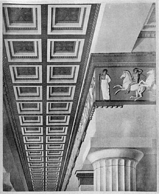 Portico of the Parthenon