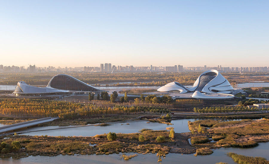Harbin opera house 2015 12 01 architectural record for Beijing opera house architect