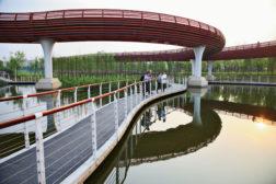 Yanweizhou Park, China