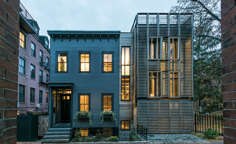 Taylor street house by sas design build 2016 04 01 for In home design boston