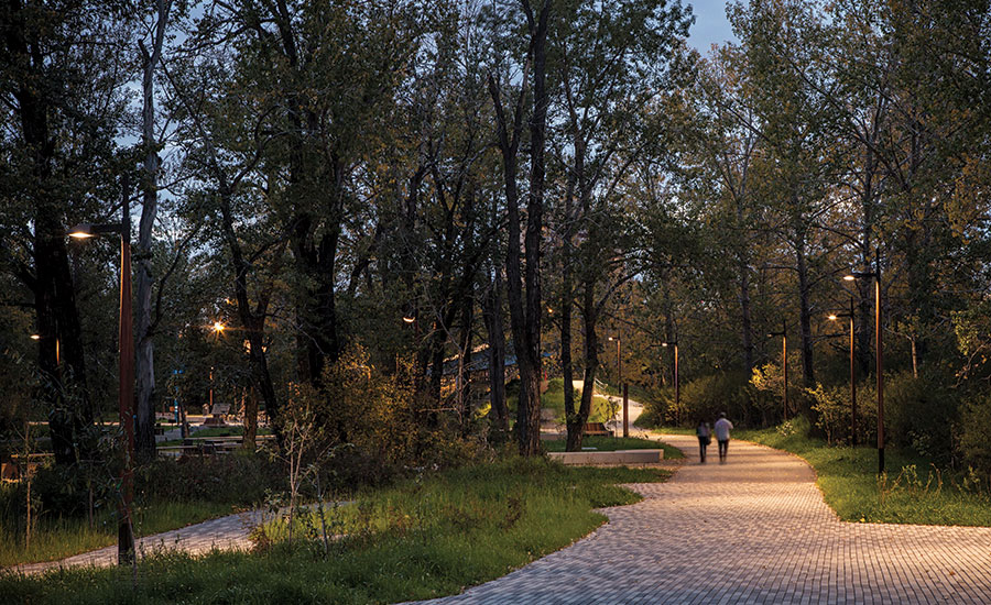 Designing for the Dark: St. Patrick's Island Park Calgary