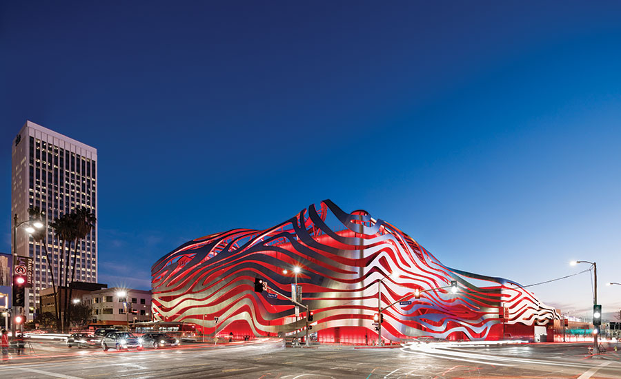 Designing for the Dark: Petersen Automotive Museum