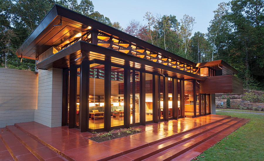 Crystal Bridges Building Design