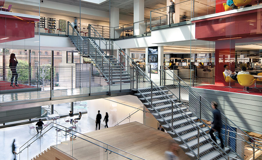 Gensler s new workplace 2016 06 01 architectural record - Interior design colleges in los angeles ...