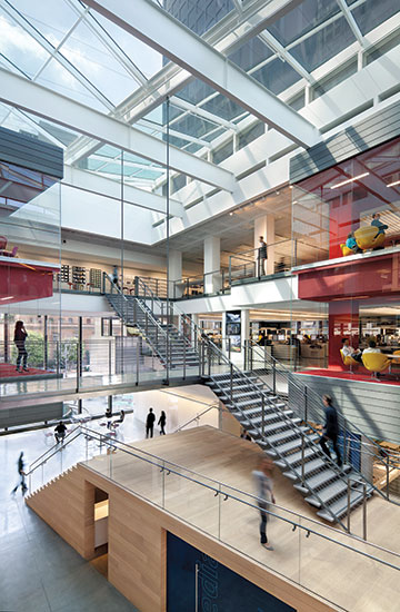 Gensler s new workplace 2016 06 01 architectural record - Interior design school los angeles ...
