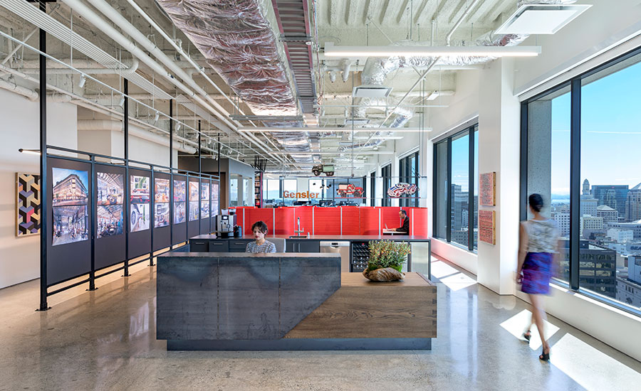 Gensler s new workplace 2016 06 01 architectural record for California design company