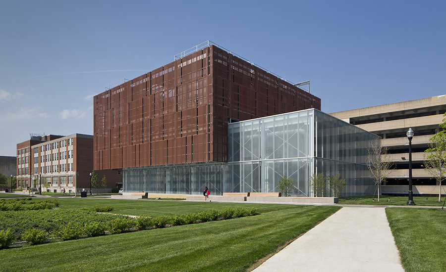 The Ohio State East Regional Chilled Water Plant - Ohio state architecture