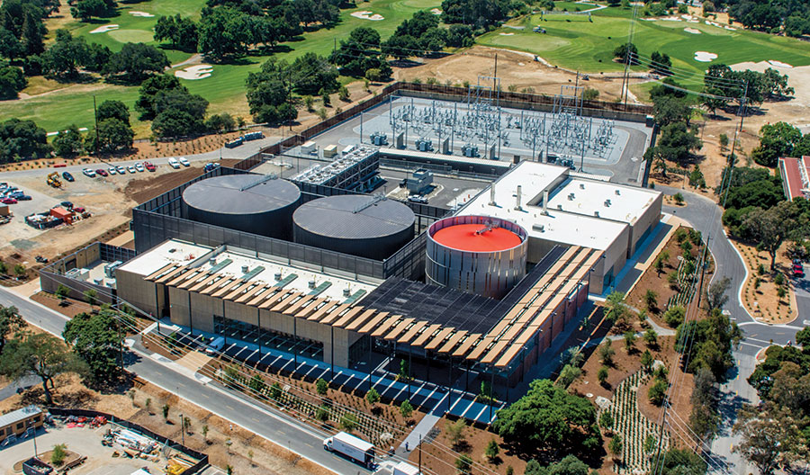 Stanford University Central Energy Facility