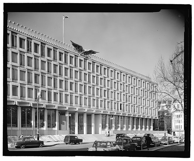David Chipperfield Architects Plans to Renovate Saarinen's U.S. Embassy