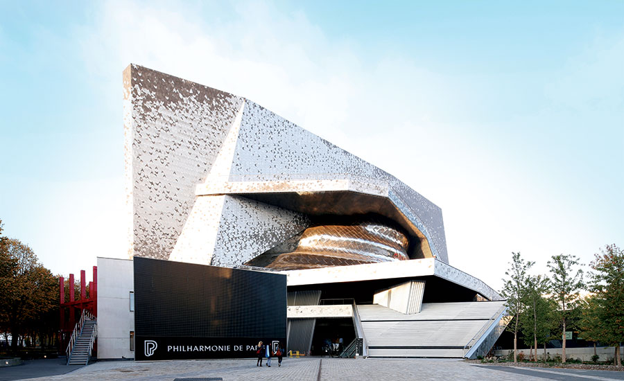Philharmonie De Paris Grande Salle 2016 05 01 Architectural Record