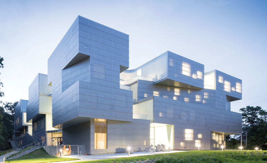 Visual arts building at the university of iowa by steven for Best type of architecture