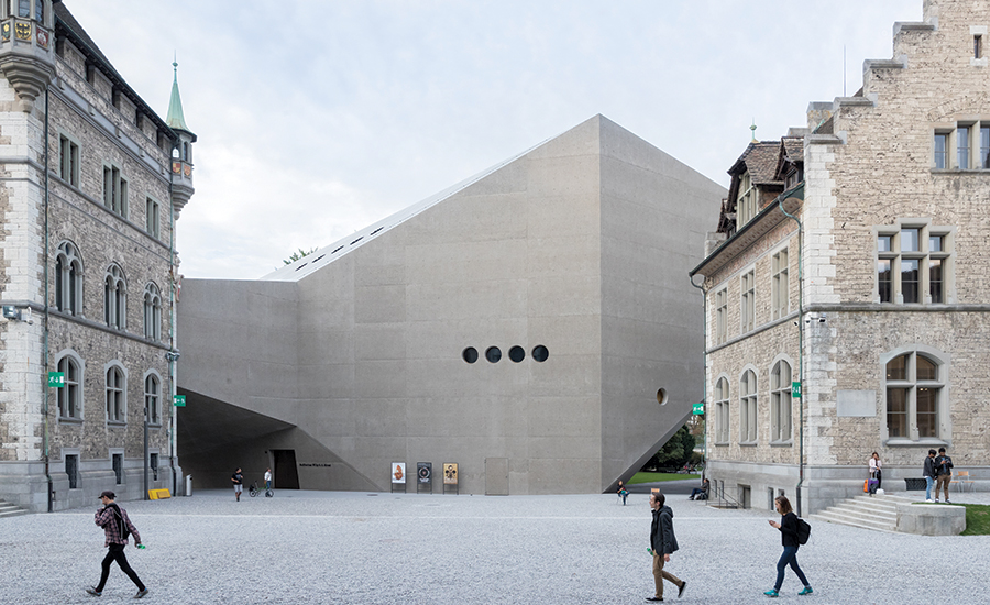 Extension of the Swiss National Museum