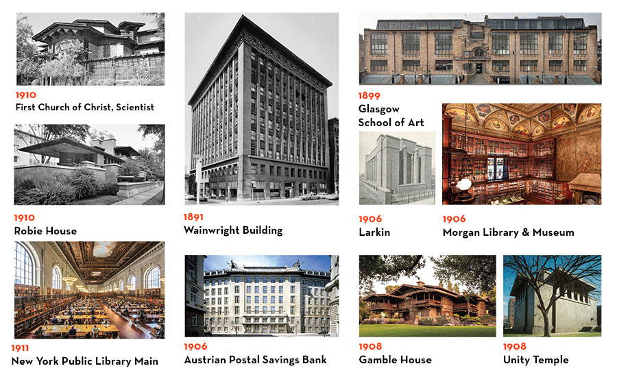 Top 125 Buildings Collage