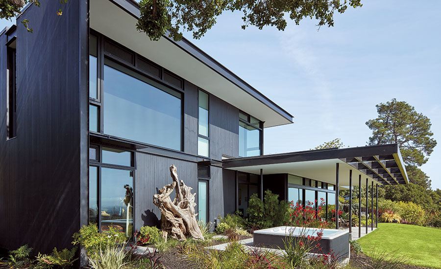 House of the month ar for Mid century modern architects houston