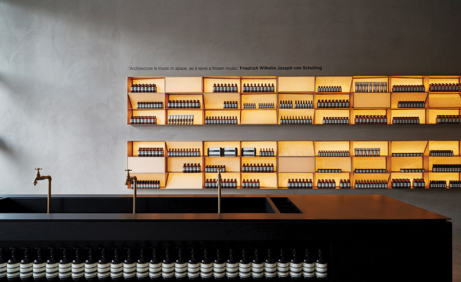 Aesop in D.C. by David Jameson Architects