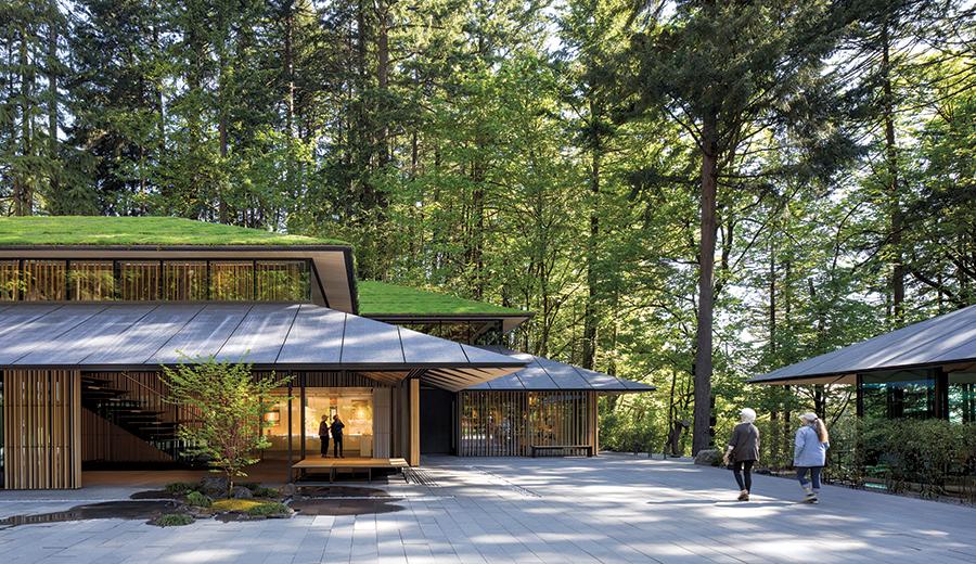 Portland Japanese Garden Cultural Village By Kengo Kuma Associates 2017 08 01 Architectural Record