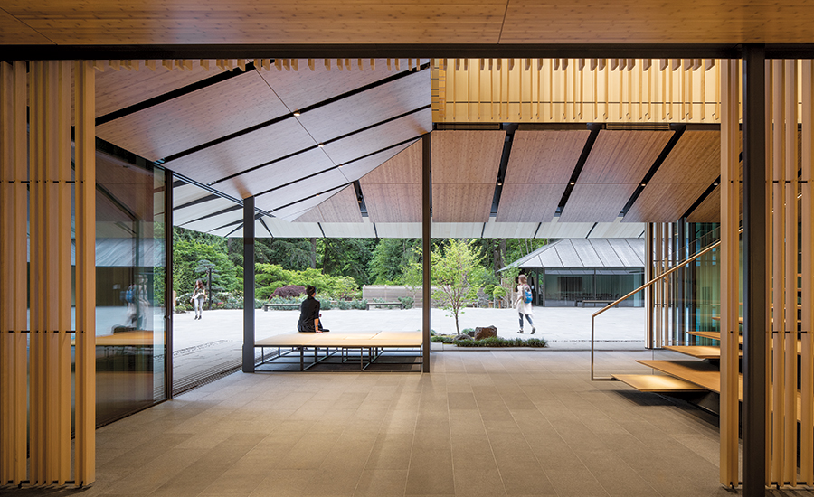 portland japanese garden cultural village by kengo kuma associates