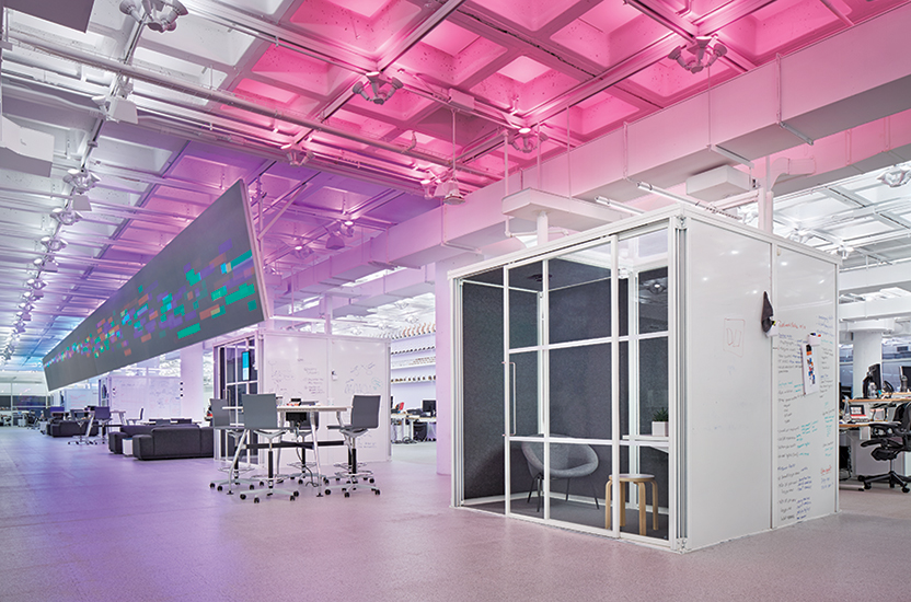 R GA Office New York By Foster Partners And Tillotson Design Associates