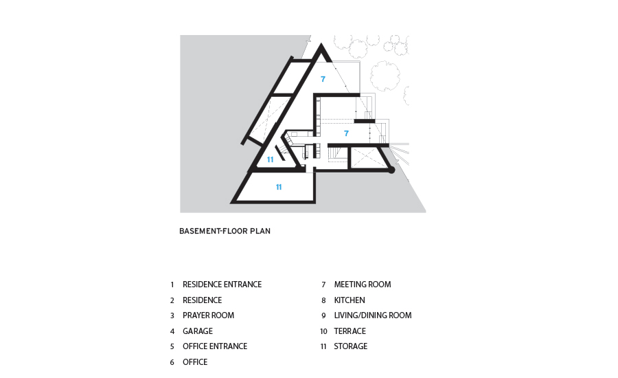 Triangle house by shigeru ban architects 2017 06 01 for Triangular house floor plans