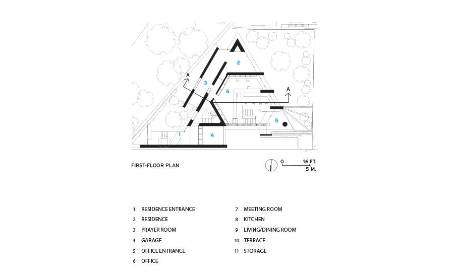 Triangle House by Shigeru Ban Architects | 2017-06-01 ...