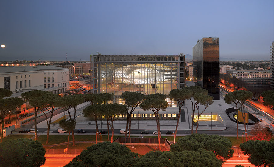 New Rome Eur Convention Center And Hotel By Massimiliano