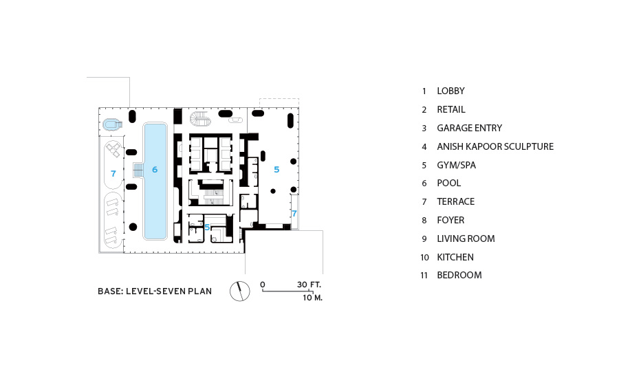 Building Elevation Ground Floor : Leonard street by herzog de meuron