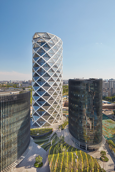Poly International Plaza by SOM