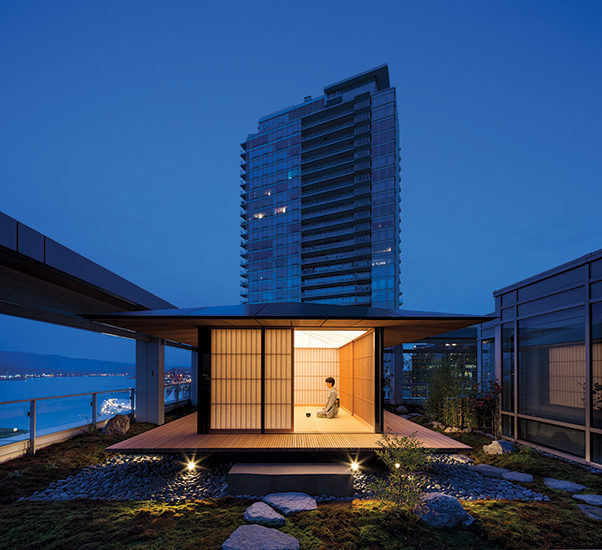 The Tea House by Kengo Kuma   2017-05-01   Architectural Record Tea House Design Cedar on cedar home design, cedar greenhouse design, cedar shed design,