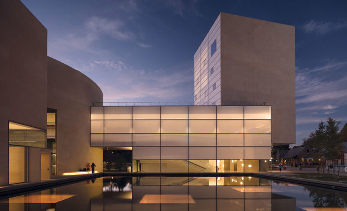 Lewis Arts Complex at Princeton University by Steven Holl