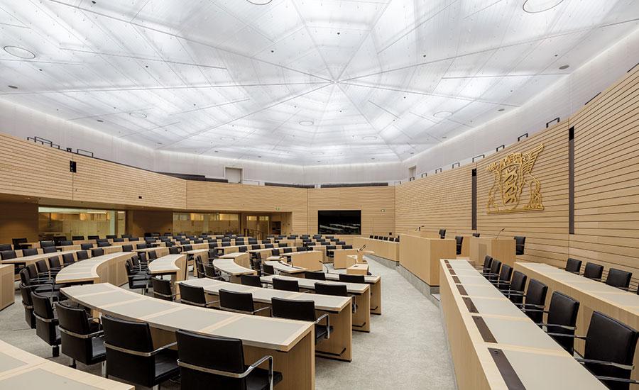Baden Wurttemberg State Parliament By Staab Architekten And Licht
