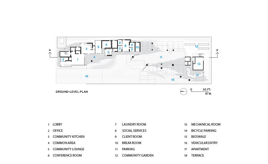 Crest Apartments by Michael Maltzan Architecture | 2017-10 ...