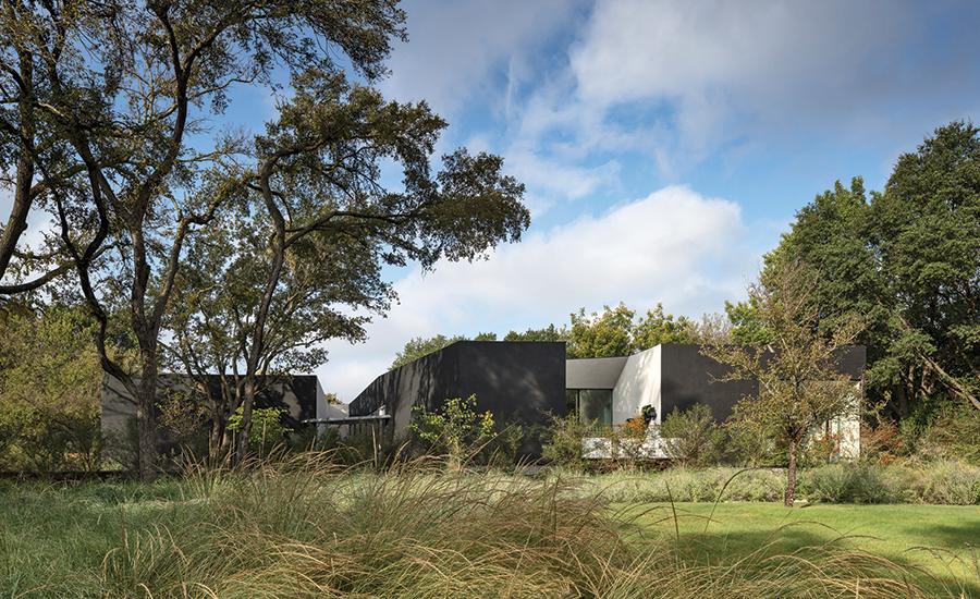 5g Studio Designs Leed Platinum Net Positive Energy House In Texas