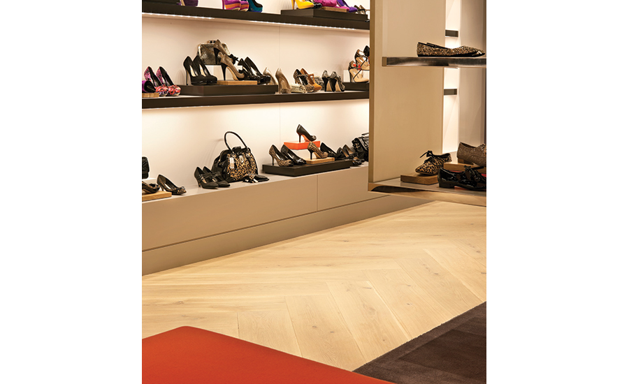 Havwoods International Is Providing The Flooring For All 95 Of The Dune  Groupu0027s Shoe Stores Around The World; Here, Aspen Raw From The Venture  Plank ...