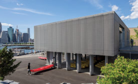 Brooklyn Bridge Boathouse by Architecture Research Office