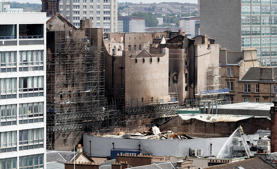 Glasgow School Of Art Plans To Rebuild Mackintosh Building 2018 08 01 Architectural Record