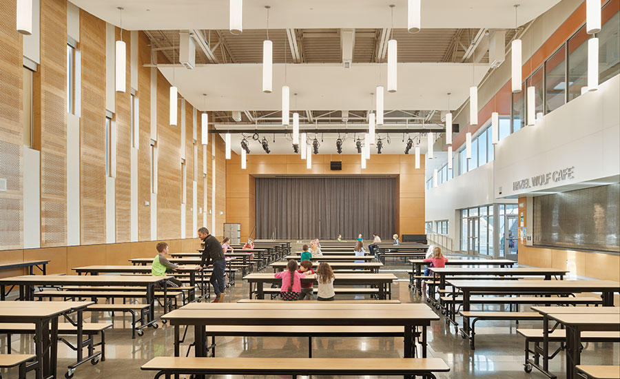 Hazel Wolf K 8 E Stem School. Interior ...