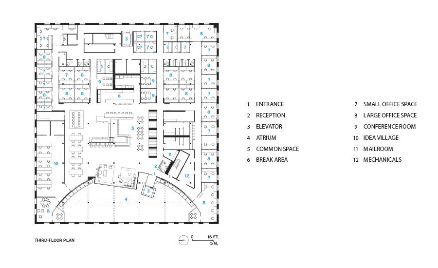 Art Center Design Floor Plans