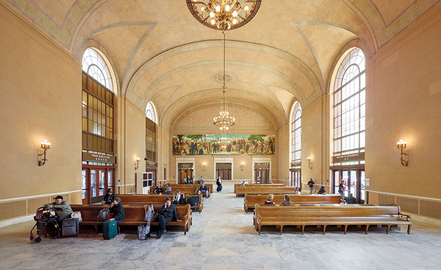Sacramento valley station by page turnbull and zgf for Architecture firms sacramento