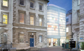 Maggie's Centre Barts by Steven Holl Architects