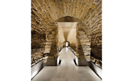 Underground Galleries of the Royal Granary of Carlos IV by Estudio Pablo Millán