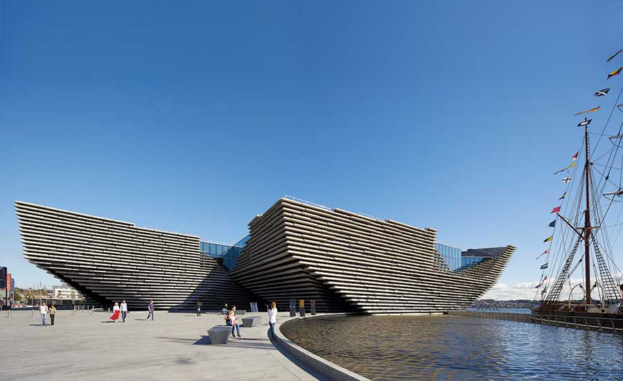 V&A Dundee by Kengo Kuma & Associates