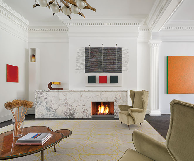 Renovation on Cox's Row by Robert M. Gurney, Architect