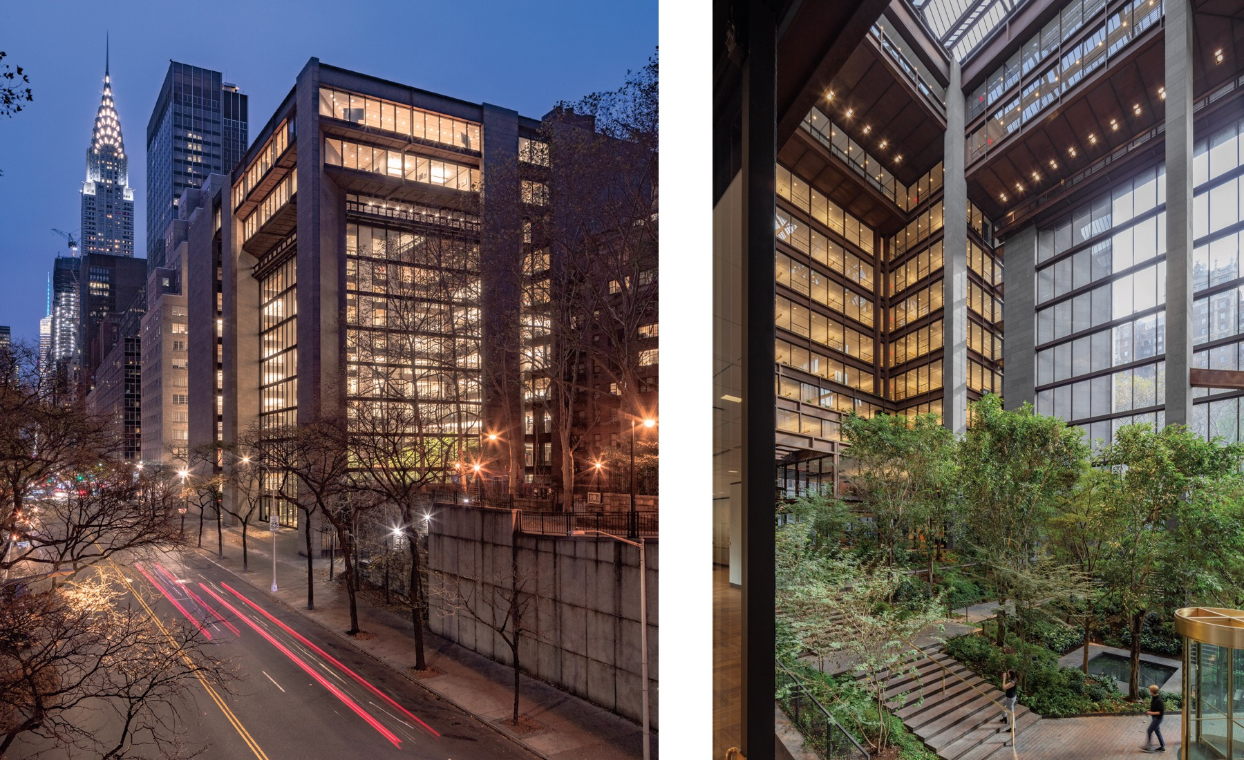 Renovated Ford Foundation Center for Social Justice by Gensler